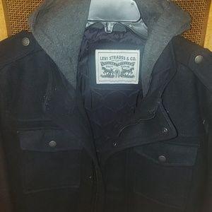 Levi's Hooded winter jacket size M